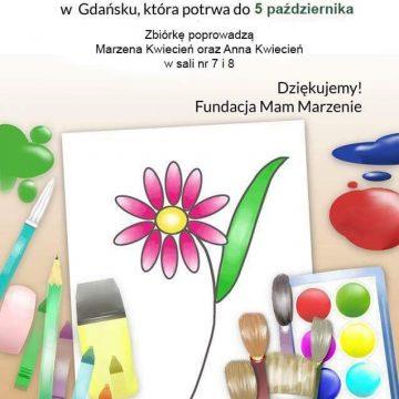 Akcja – zbieramy materiały plastyczne dla dzieci z Oddziału Onkologicznego w Gdańsku!