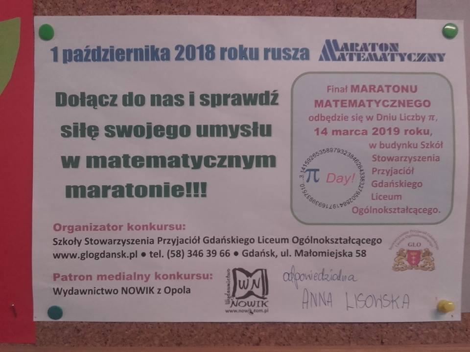 Maraton Matematyczny.