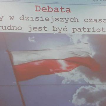 5.11 odbyła się debata o patriotyzmie🇵🇱 Uczniowie udowodnili że mają własne zdanie i potrafią je obronić w formie dojrzałego przekazu Brawo👏😊