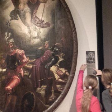 Detektywi sztuki- klasy 4 B i E w Muzeum Narodowym w Gdańsku