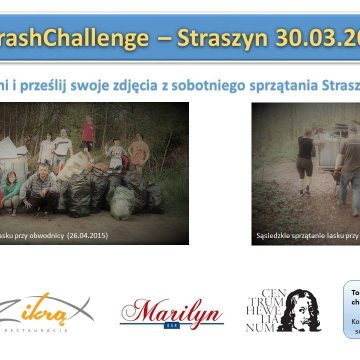 #TrashChellenge – sprzątamy Straszyn 2019