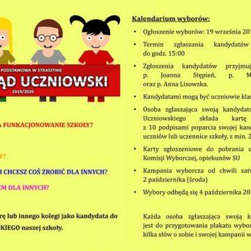 Rusza nabór kandydatów do rady SU na rok szkolny 2019/2020