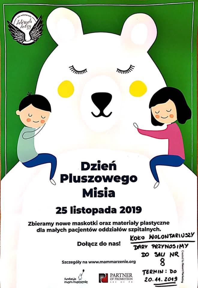 Szkolne Koło Wolontariuszy Dobrych Duszy zaprasza do II edycji akcji!